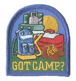 Advantage Emblem & Screen Prnt Got Camp? Fun Patch