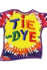 Advantage Emblem & Screen Prnt Tie Dye T-Shirt Fun Patch