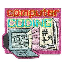 Advantage Emblem & Screen Prnt Computer Coding Fun Patch