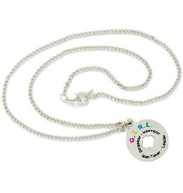 GIRL SCOUTS OF THE USA G.I.R.L. Token Necklace