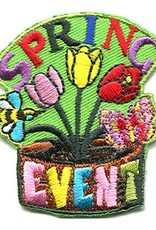 Advantage Emblem & Screen Prnt Spring Event Fun Patch
