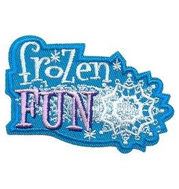 Advantage Emblem & Screen Prnt Frozen Fun Snowflake Fun Patch