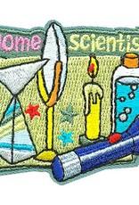 Advantage Emblem & Screen Prnt Home Scientist Candle Prism Fun Patch
