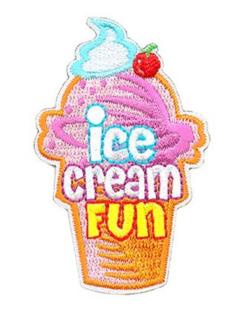 Advantage Emblem & Screen Prnt Ice Cream Fun Cone Fun Patch