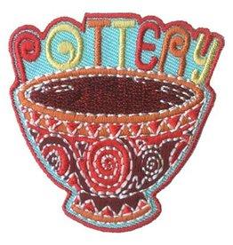 Advantage Emblem & Screen Prnt Pottery Bowl Fun Patch