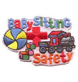 Advantage Emblem & Screen Prnt Babysitting Safety Fun Patch