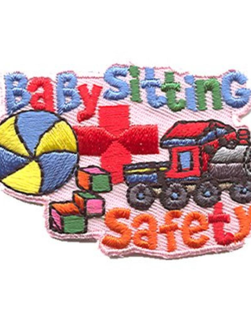 Advantage Emblem & Screen Prnt Babysitting Safety Fun Patch