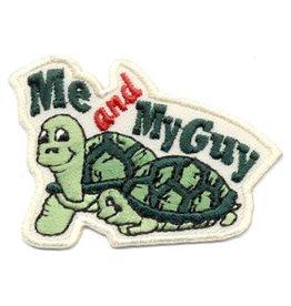 Advantage Emblem & Screen Prnt Me & My Guy Turtles Fun Patch