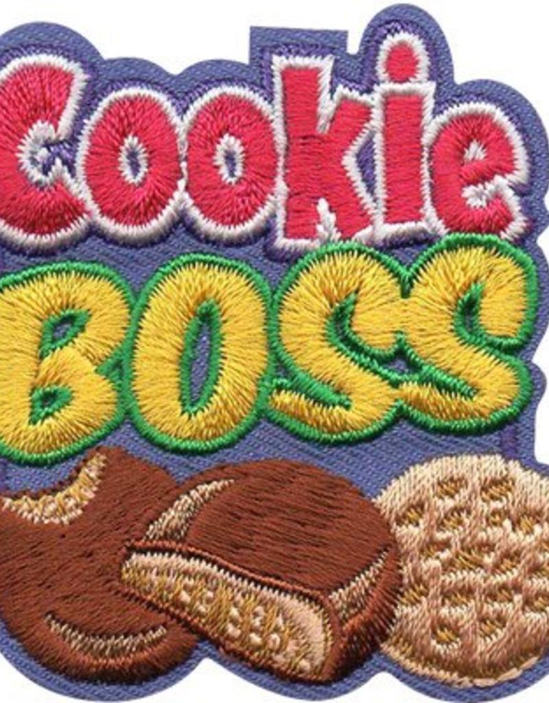 Advantage Emblem & Screen Prnt Cookie Boss Fun Patch