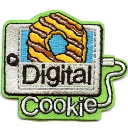 Advantage Emblem & Screen Prnt Digital Cookie Fun Patch