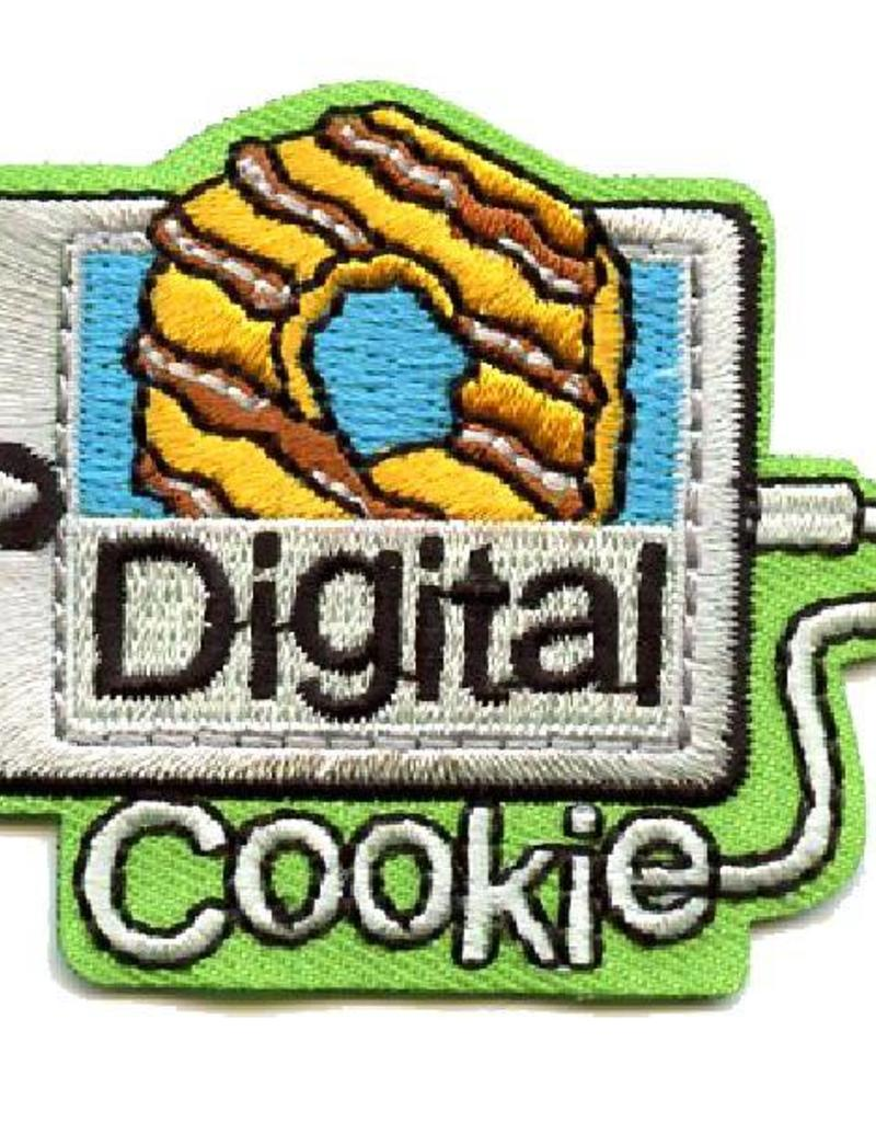 Advantage Emblem & Screen Prnt Digital Cookie Fun Patch