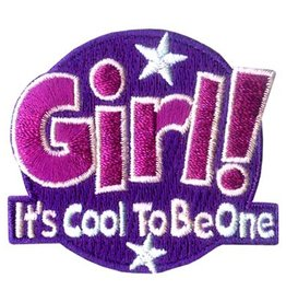 Advantage Emblem & Screen Prnt Girl! It's Cool to Be One Fun Patch