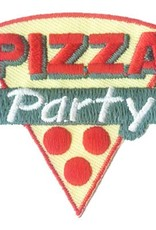 Advantage Emblem & Screen Prnt Pizza Party Slice Fun Patch