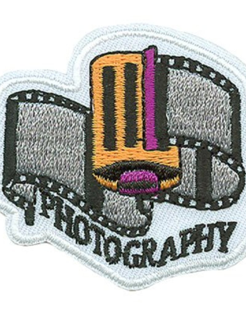 Advantage Emblem & Screen Prnt Photography Roll of Film Fun Patch