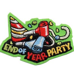Advantage Emblem & Screen Prnt End of Year Party Fun Patch