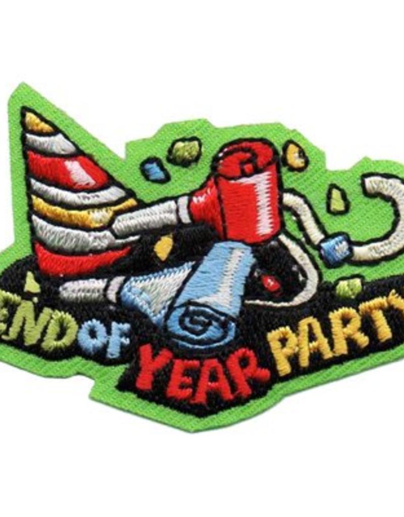 Advantage Emblem & Screen Prnt End of Year Party Fun Patch