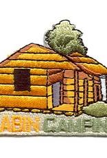 Advantage Emblem & Screen Prnt Cabin Camping Fun Patch