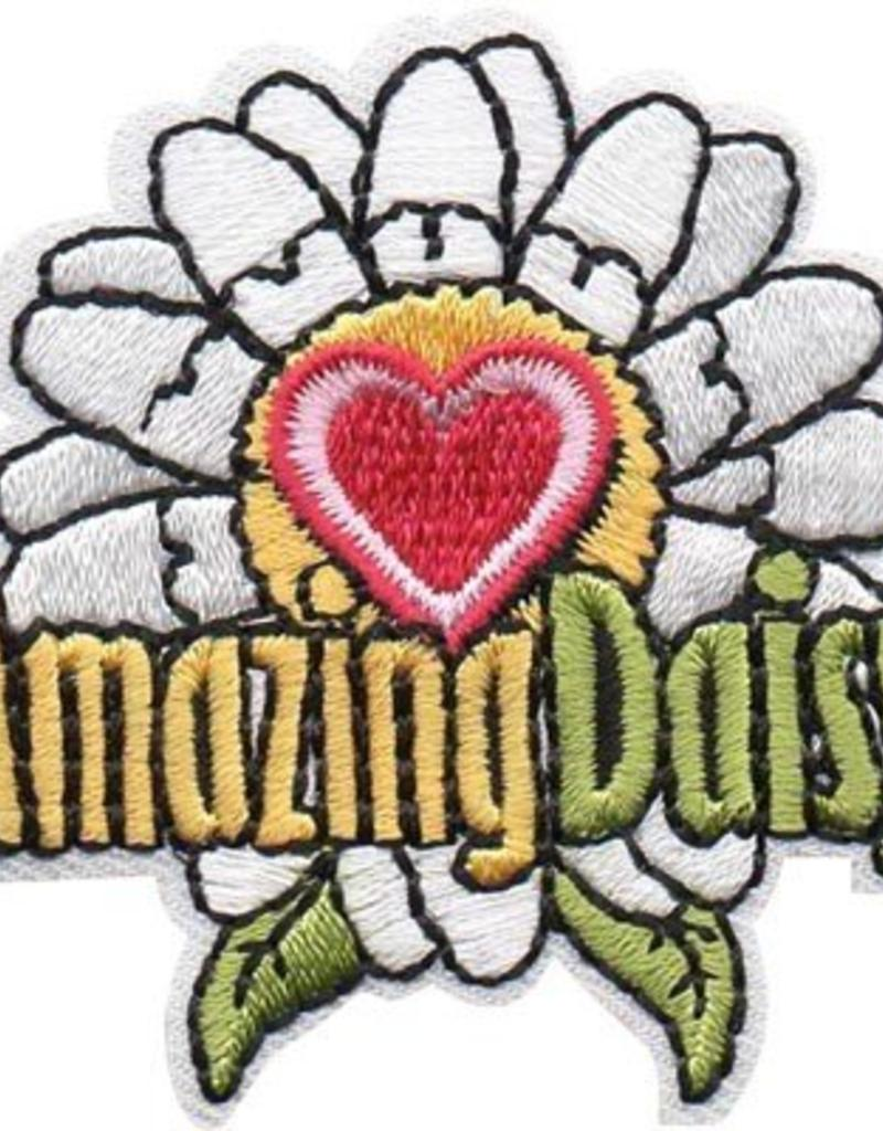 Advantage Emblem & Screen Prnt Amazing Daisy Fun Patch