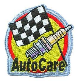 Advantage Emblem & Screen Prnt Auto Car Care Fun Patch