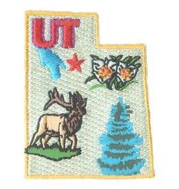 Advantage Emblem & Screen Prnt State of Utah Fun Patch