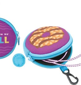 LITTLE BROWNIE BAKER Ear Bud Earbud Pouch w/ Samoa Cookie Print