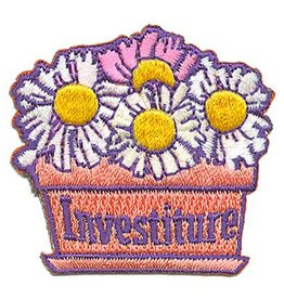 Advantage Emblem & Screen Prnt Investiture Flower Pot Fun Patch