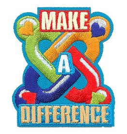 Make A Difference Fun Patch