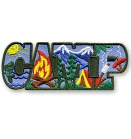 CAMP Letters Fun Patch