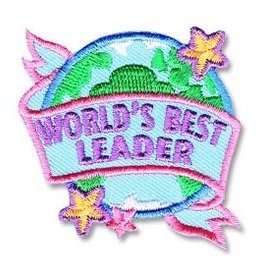 World's Best Leader Fun Patch