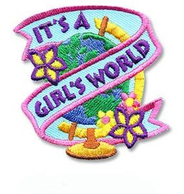 It's a Girl's World Fun Patch