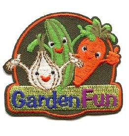 Advantage Emblem & Screen Prnt Garden Fun Veggies Fun Patch