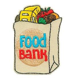 Food Bank Grocery Bag Fun Patch
