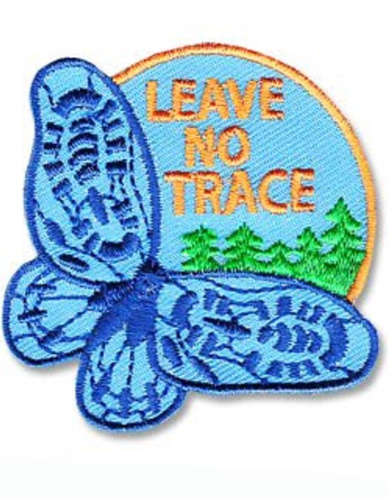 Leave No Trace Butterfly Fun Patch