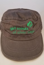 Outfit Your Logo Silver Sage Cadet Cap Storm Grey