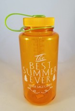 Outfit Your Logo Silver Sage Camps Nalgene Water Bottle Clementine Orange