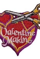Advantage Emblem & Screen Prnt Valentine Making Fun Patch