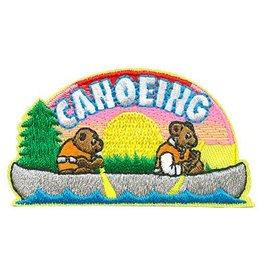 Advantage Emblem & Screen Prnt Canoeing Bears Fun Patch