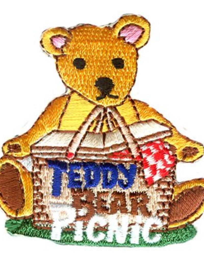 Advantage Emblem & Screen Prnt Teddy Bear Picnic Fun Patch