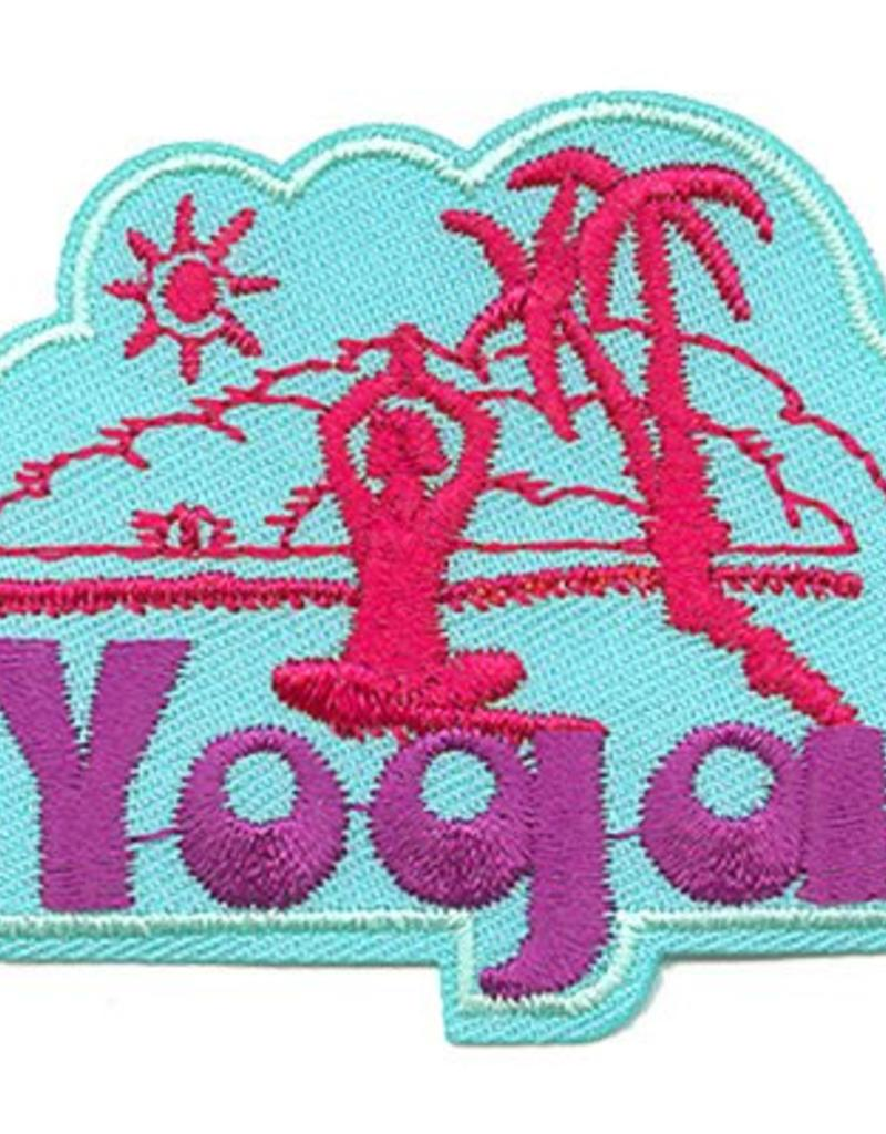 Advantage Emblem & Screen Prnt Yoga Fun Patch