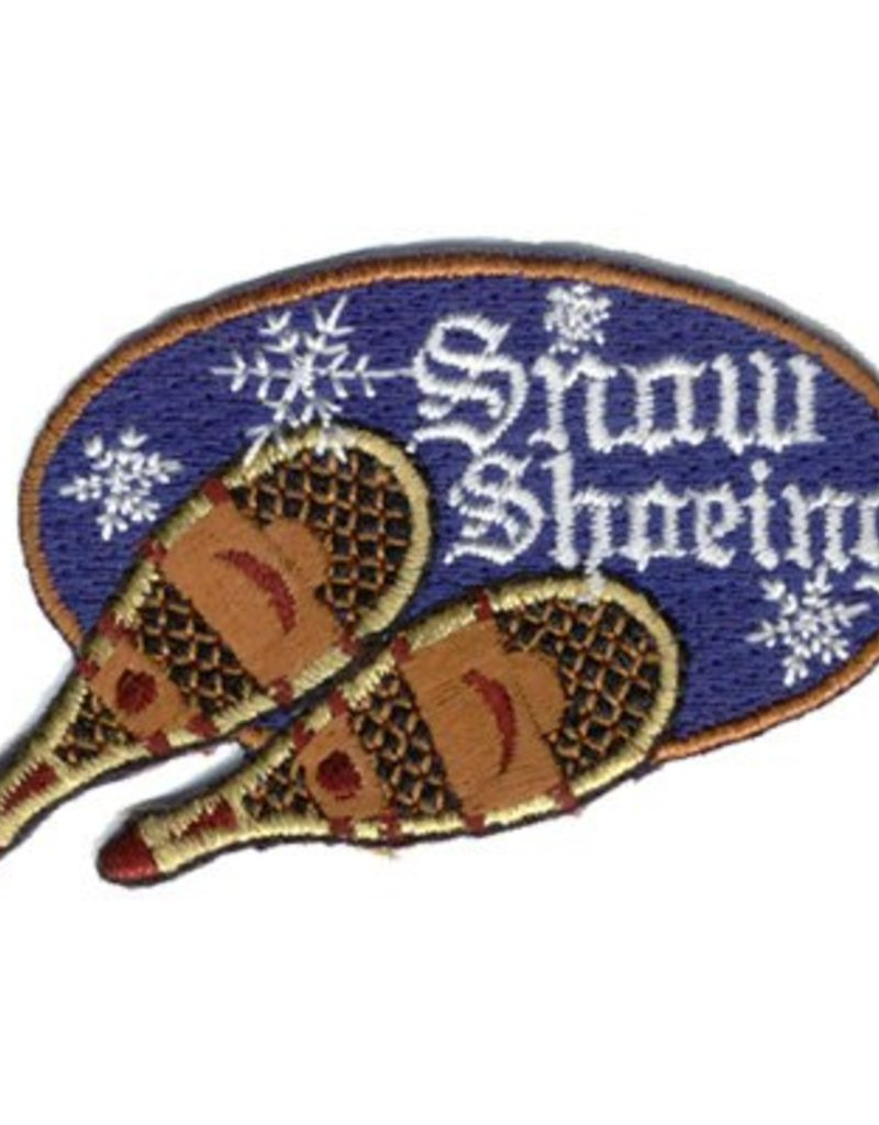 Advantage Emblem & Screen Prnt Snow Shoeing Fun Patch