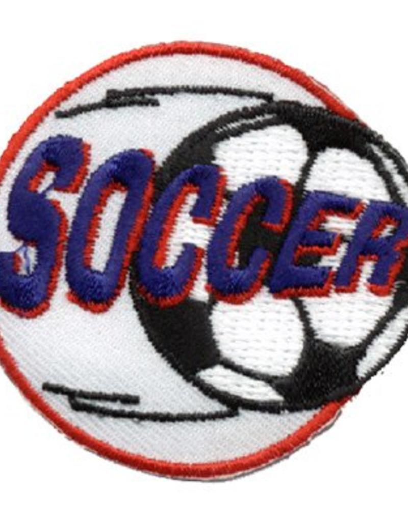 Advantage Emblem & Screen Prnt Soccer Fun Patch