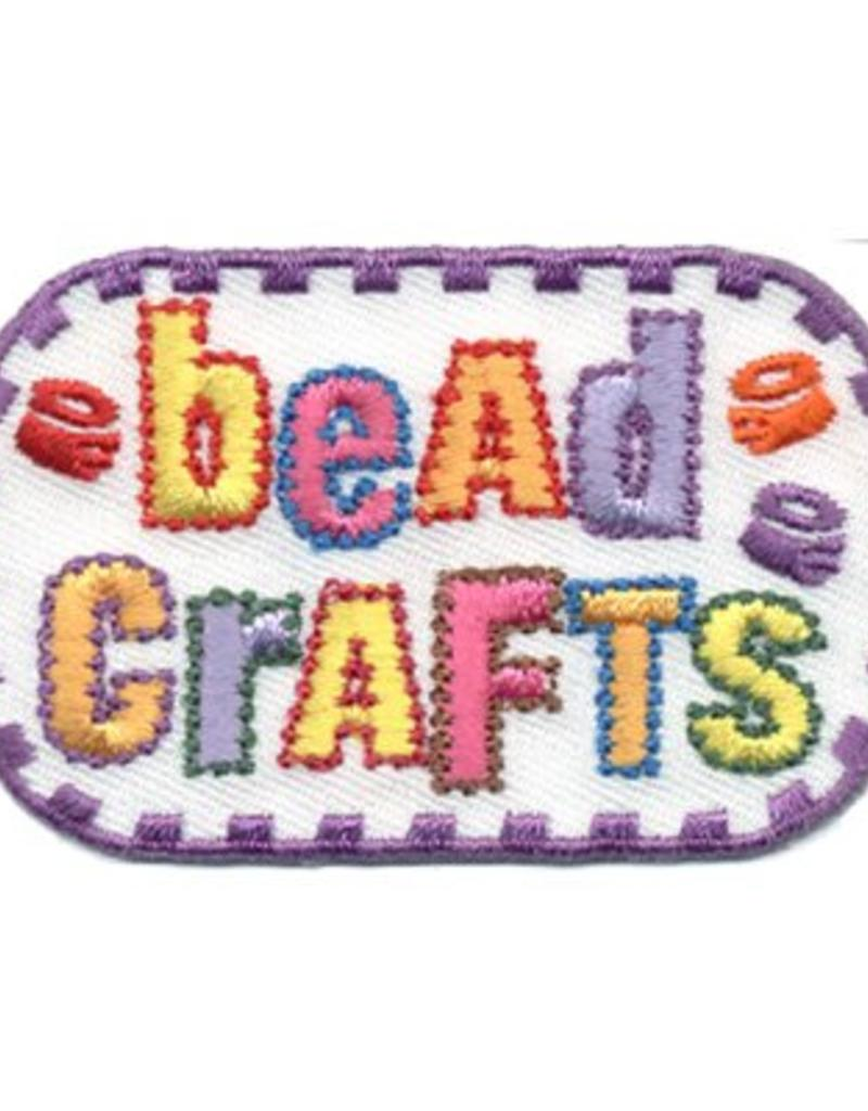 Advantage Emblem & Screen Prnt Bead Crafts Fun Patch