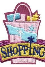 Advantage Emblem & Screen Prnt Shopping Bag Fun Patch