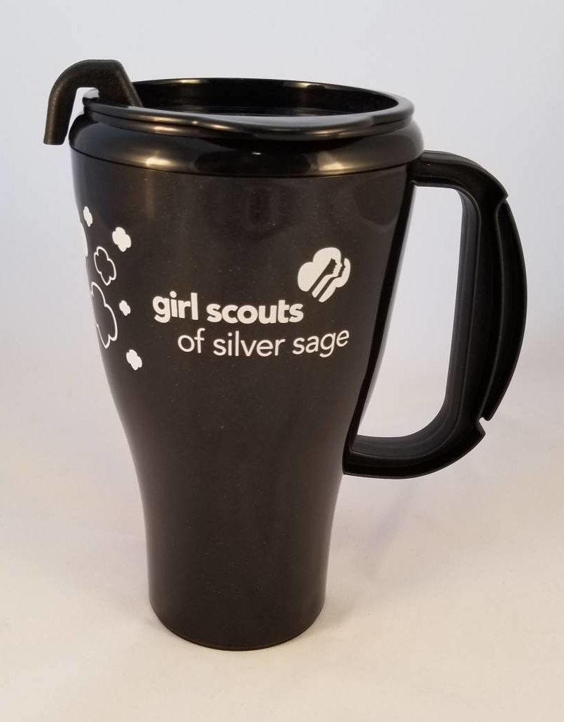 The Roberts Group Silver Sage 16 oz. Black Seafarer Coffee Mug