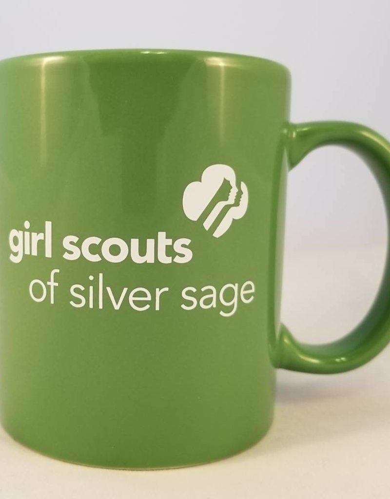 Silver Sage 11 oz. Lime Green Hampton Ceramic Mug