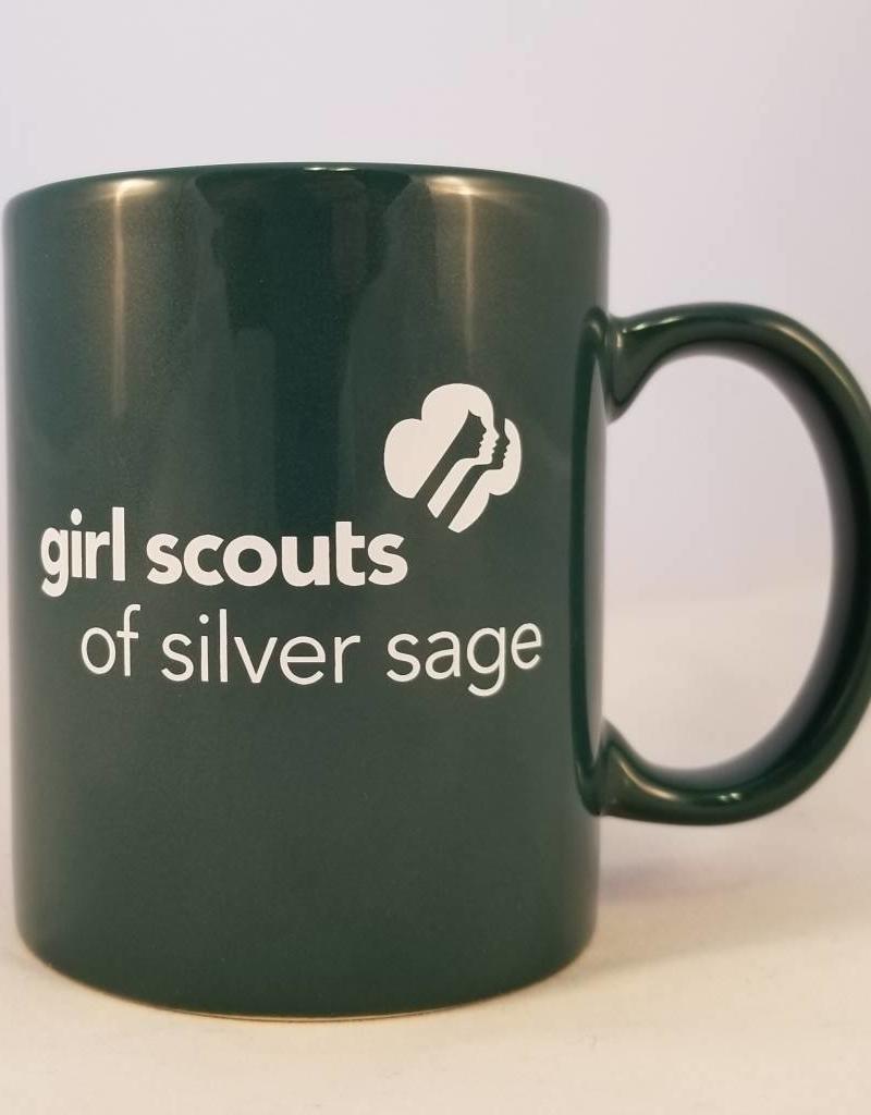 Silver Sage 11 oz. Dark Green Hampton Ceramic Mug