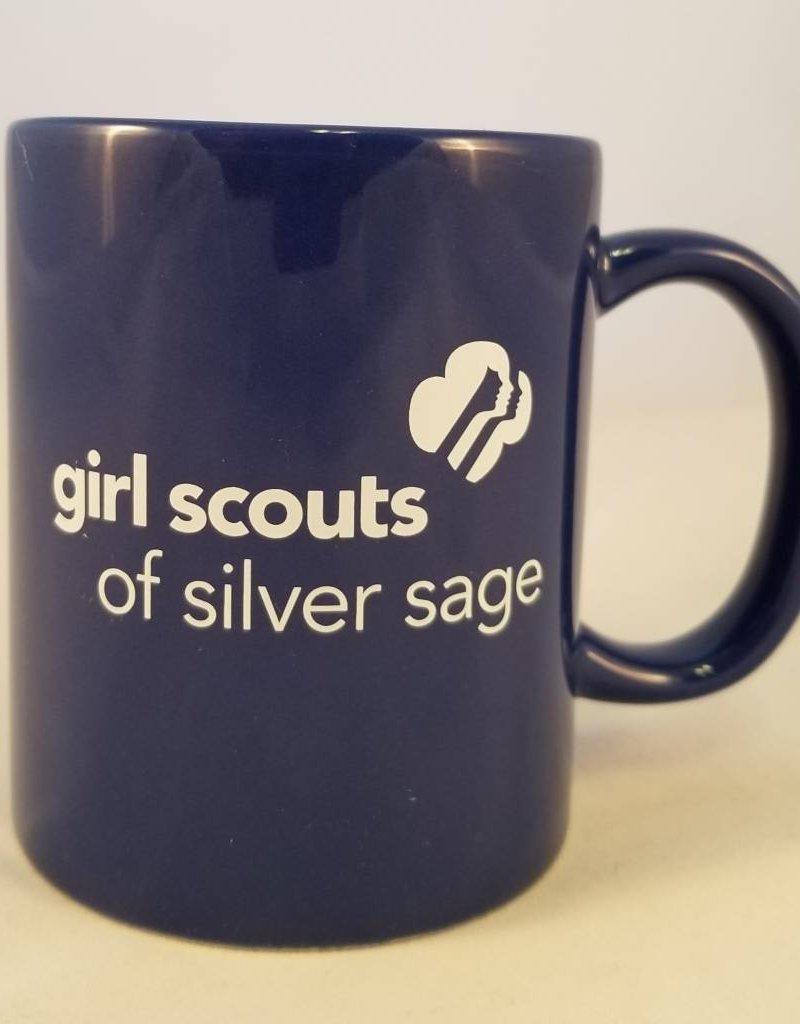 Silver Sage 14 oz. Blue Wave Ceramic Mug