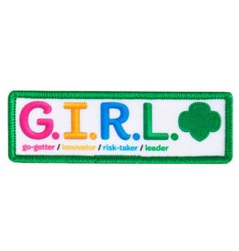GIRL SCOUTS OF THE USA G.I.R.L. Fun Patch
