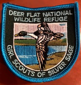 Advantage Emblem & Screen Prnt Deer Flat Nat'l Refuge Patch