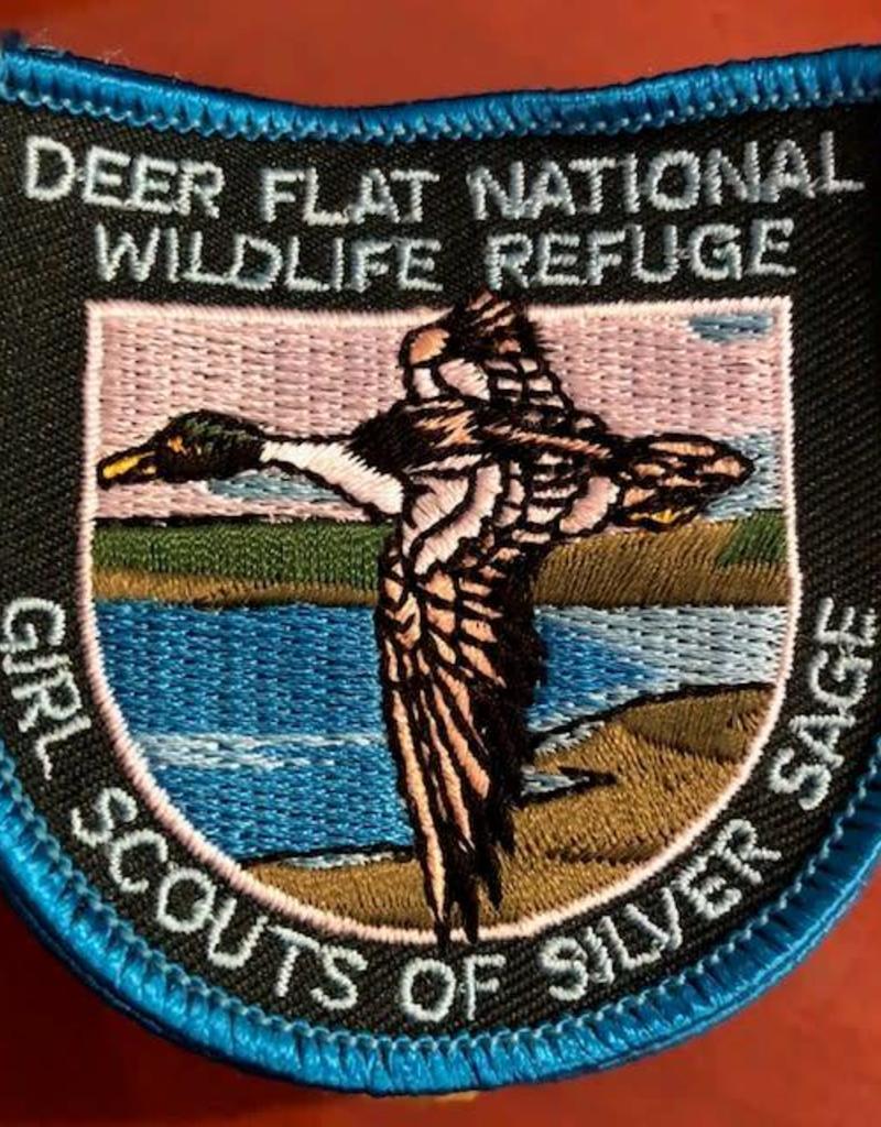 Advantage Emblem & Screen Prnt Deer Flat Nat'l Refuge Patch